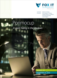 Ponmocup threat report cover page