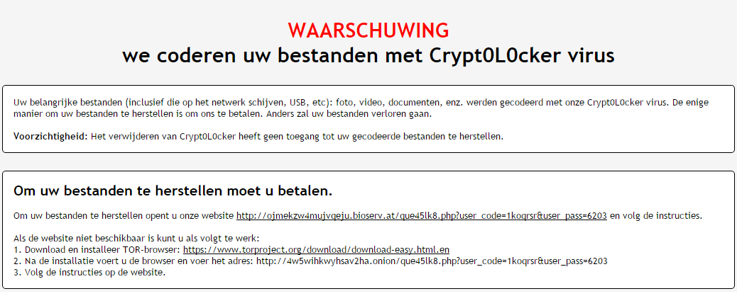 Ziggo ransomware phishing campaign still increasing in ...