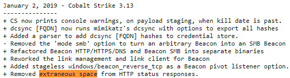 Identifying Cobalt Strike team servers in the wild